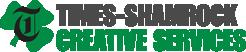 Times-Shamrock Creative Services Logo